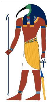 Quelle divinité égyptienne possède une tête d'ibis ?