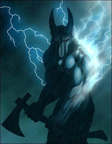 À quelle mythologie appartient le dieu Taranis ?