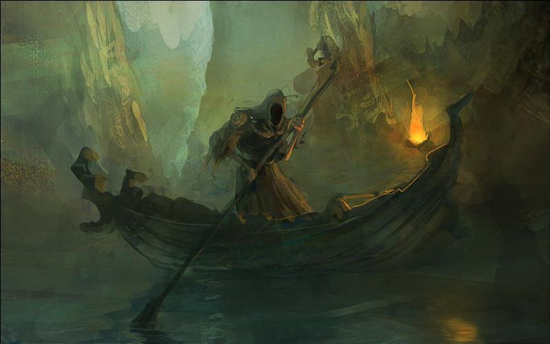 Qui est le passeur du Styx, fleuve des enfers grecs ?