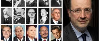 Les anciens présidents français