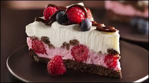 Votre dessert idéal, c'est :