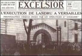 """""""L"""" comme """"Landru"""". Cliquer sur le portrait de ce tristement célèbre tueur en série français, ayant sévi au début du XXe siècle :"""