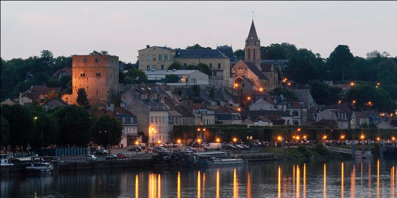Quelle(s) localité(s) se trouve(nt) en Île-de-France ?