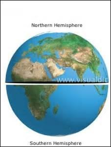 Dans quel(s) hémisphère(s) se situe la Namibie ?