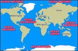 Lequel de ces océans borde la Namibie ?