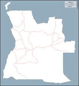 Lequel de ces pays est frontalier avec la Namibie ?