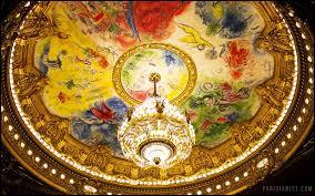 Qui peignit le plafond de l'Opéra de Paris à l'âge de 77 ans ?