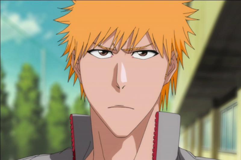 Quelle est la première personne ou créature surnaturelle que voit Ichigo ?