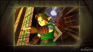 Quand la Triforce s'est brisée, Link a récupéré la Triforce :