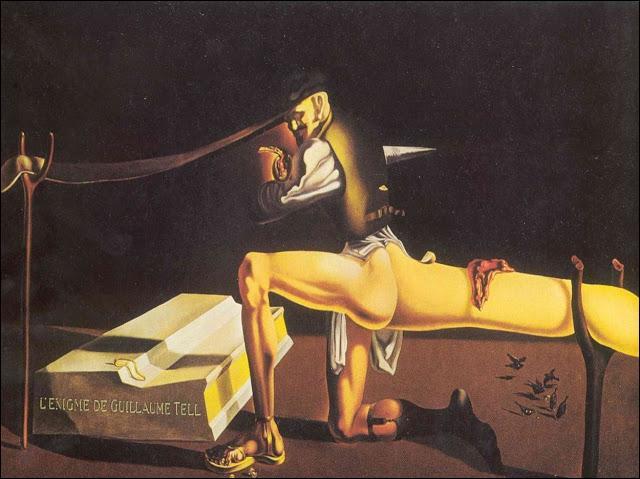Quel peintre surréaliste est l'auteur de ce tableau ?