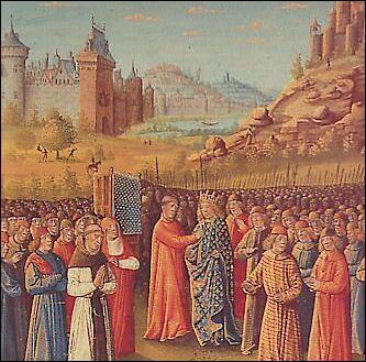 De 1147 à 1149, le royaume est administré par un régent. Pour quelle raison ?