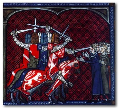 De 1209 à 1229, un conflit se déroule dans une partie du royaume. De quoi s'agit-il ?