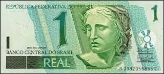 Quel est le nom de la monnaie brésilienne ?