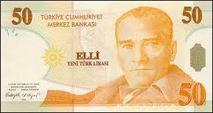 Comment s'appelle la monnaie turque ?