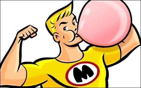 Par la suite, tu surprends un élève en train de faire des bulles avec un chewing-gum. Quelle est ta réaction ?