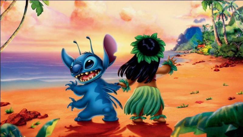 """Quel est le mot ''apaisant'' que Lilo apprend à son ami extraterrestre agressif, dans """"Lilo et Stitch"""" ?"""