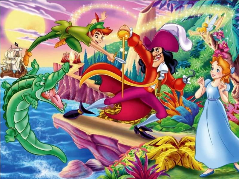 """Quel est l'objet que le petit Michel traîne partout avec lui dans """"Peter Pan"""" ?"""