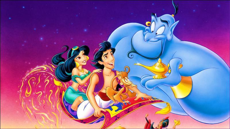 """Que fait Rajah, le tigre de Jasmine au prince lorsqu'il se présente comme prétendant au palais dans """"Aladdin"""" ?"""