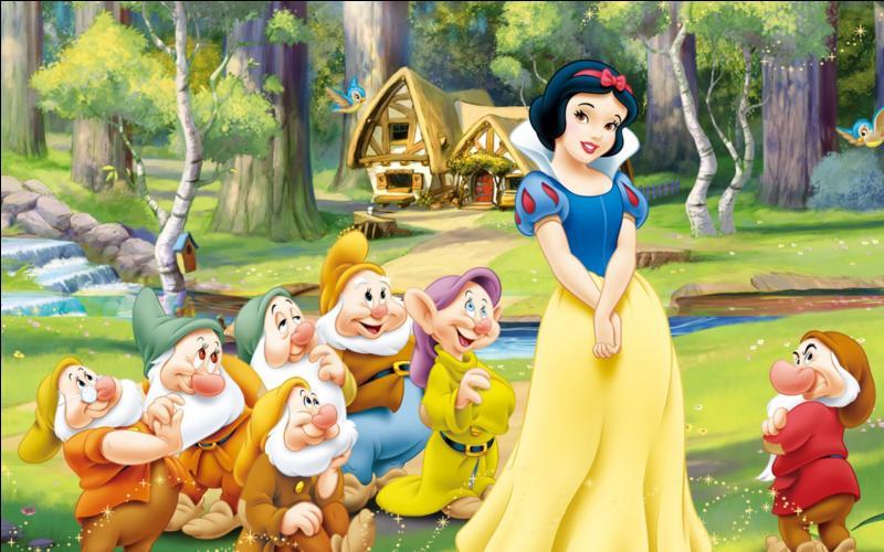 """""""Blanche-Neige et les sept nains"""" est le tout premier classique d'animation Disney jamais sorti."""