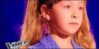 """À quel âge Gloria a-t-elle fait """"The Voice Kids"""" ?"""