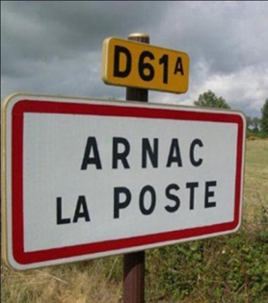 De quelle association fait partie Arnac-la-Poste ?