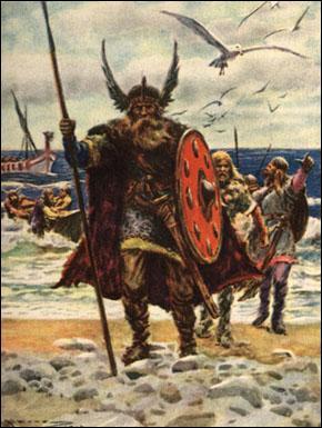 L'empire dirigé par Charlemagne connaît les premières attaques des guerriers scandinaves. Comment les appelle-t-on ?