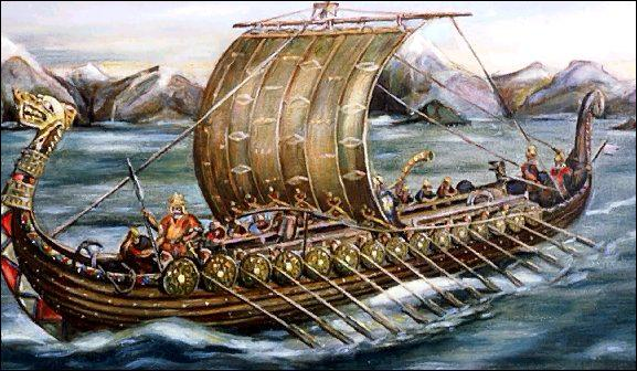 Ils traversent les mers et les océans grâce à des bateaux à fond plat. Comment appelle-t-on ces bateaux ?