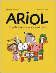 "Qui a créé ""Ariol"" ?"