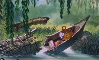 """Dans cette scène du """"Livre de la jungle"""", que se passe-t-il ?"""