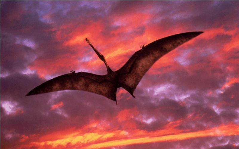 Quand les ptérosaures (reptiles volants) ont-ils disparu ?
