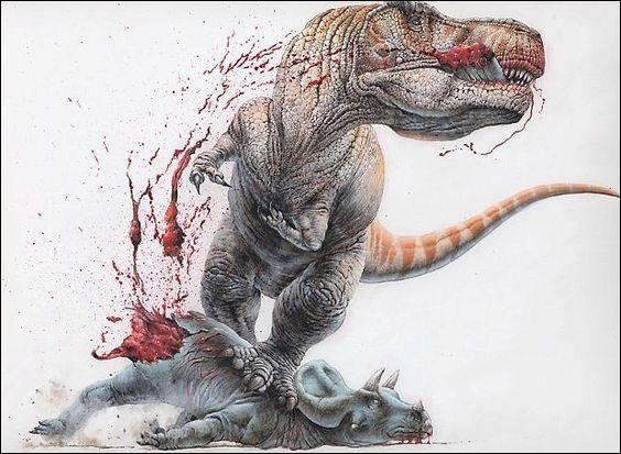 À quelles familles appartenaient la plupart des deniers grands dinosaures carnivores ?