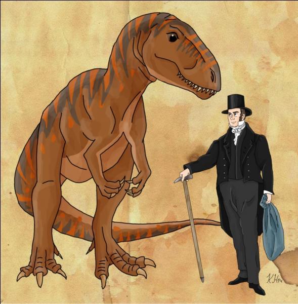 William Buckland (1784-1856) est, en 1824, le premier savant à attribuer un nom scientifique à un dinosaure. Il s'agit du :