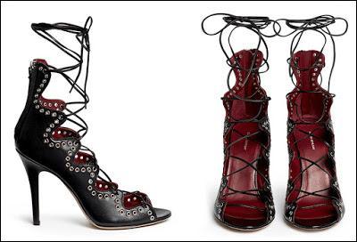Un peu relookées pour des femmes élégantes qui ne se proposent pas forcément de danser ni de faire du théâtre. Sur quel modèle sont fabriquées ces chaussures à hauts talons ?