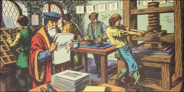 L'invention de l'imprimerie révolutionne la culture et le monde du livre. Qui est l'inventeur de l'imprimerie moderne en Occident ?