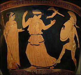 Reine de Sparte, elle est enlevée par Pâris et emmenée à Troie. De qui s'agit-il ?