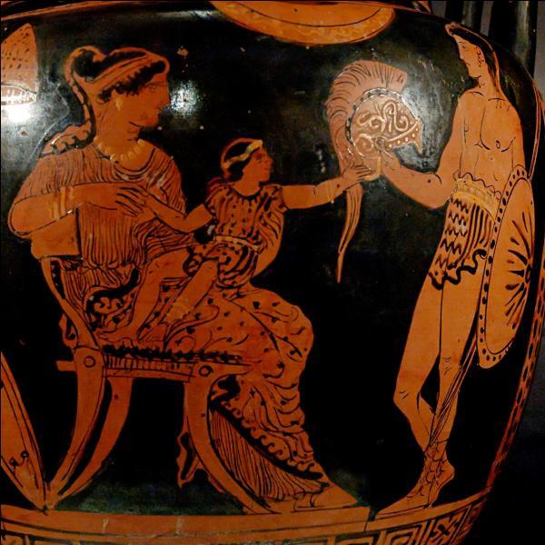 Femme d'Hector, elle assiste à la prise de la ville et à la mort de son fils unique précipité du haut des remparts. Son destin a inspiré de nombreux poètes. De qui s'agit-il ?