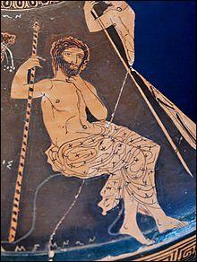 Roi de Mycènes et frère du précédent, il commande l'armée des Grecs. De qui s'agit-il ?