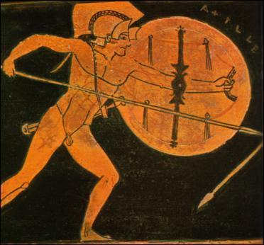 Fils de Pélée, il est le grand Héros grec, dont la colère constitue le thème de l'Iliade. De qui s'agit-il ?