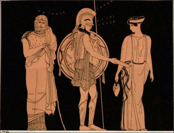 Reine de Troie, elle a eu la douleur de voir périr la plupart de ses nombreux enfants. De qui s'agit-il ?