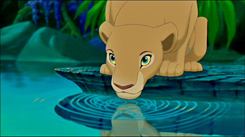 De quelle couleur les yeux de Nala sont-ils dans le premier film ?