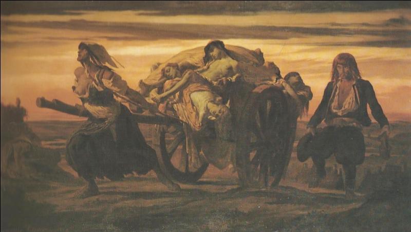 Quelle maladie a causé la mort d'environ 25 millions d'Européens vers 1350 ?