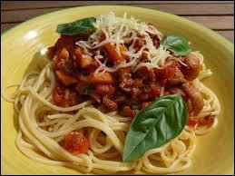 D'où les spaghetti à la bolognaise viennent-elles réellement ?