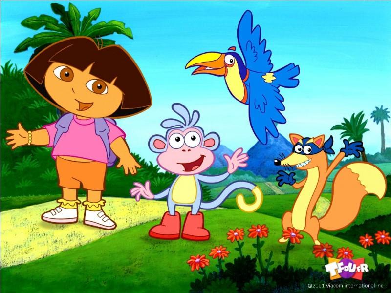 Comment s'appelle le singe de Dora ?