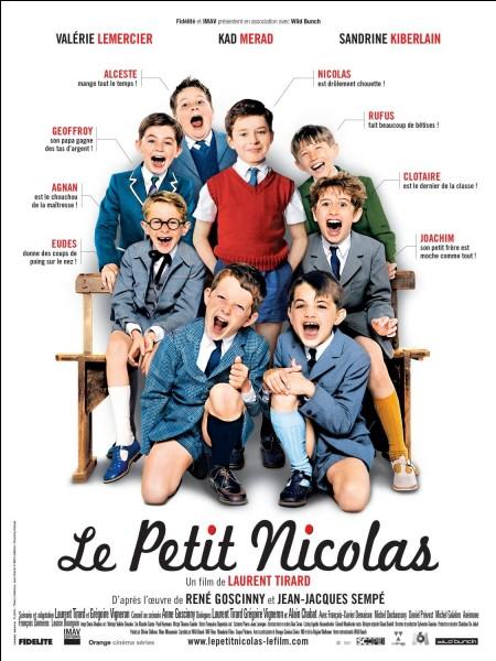 """Dans """"Le Petit Nicolas"""", comment s'appelle le premier de la classe qui est aussi le chouchou de la maîtresse ?"""