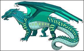 Comment s'appelle l'Aile de Mer qui a élevé les Dragonnets du Destin ?