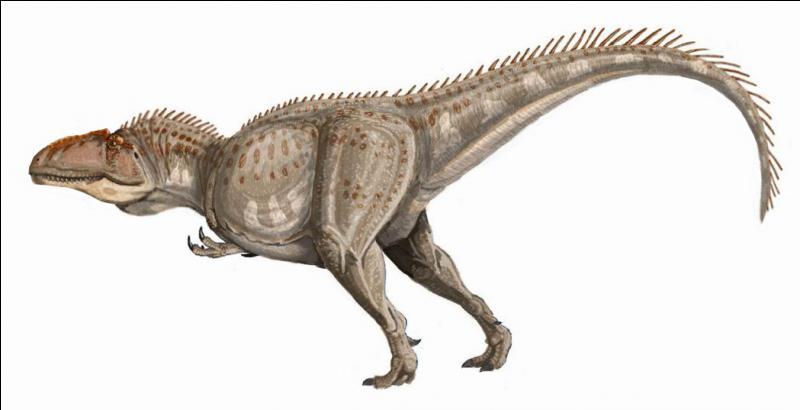 Sur quel continent a vécu le giganotosaure ?