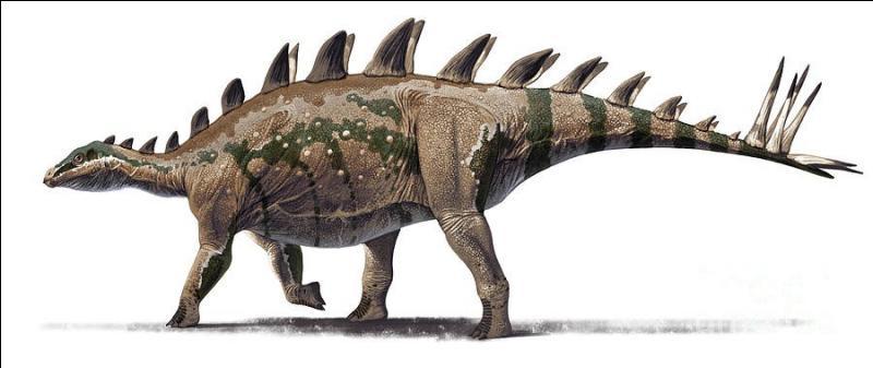 Sur quel continent a vécu le tuojiangosaure ?