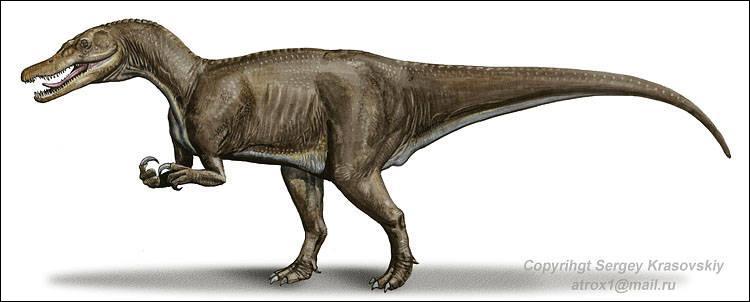 Sur quel continent a vécu le baryonyx ?