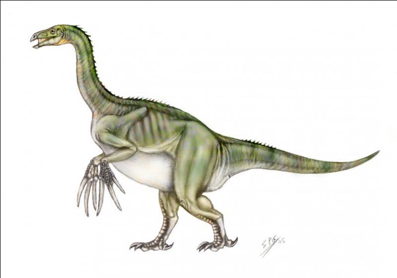 Sur quel continent a vécu le thérizinosaure ?