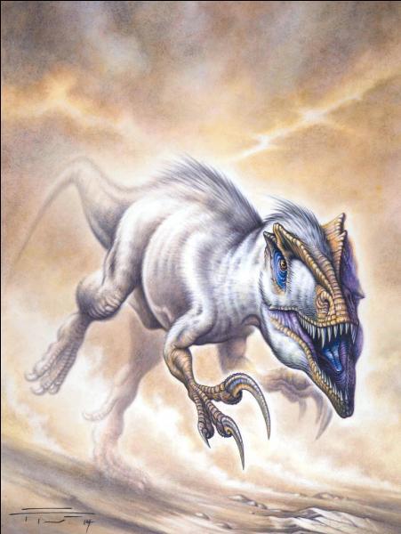 Sur quel continent a vécu le mégaraptor ?
